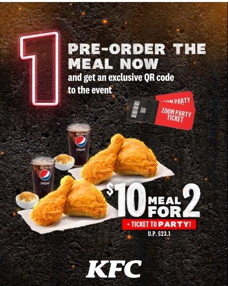kfc promo 10 for 2 meals