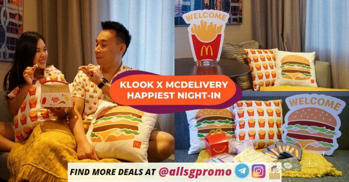 klook mcdonald staycation