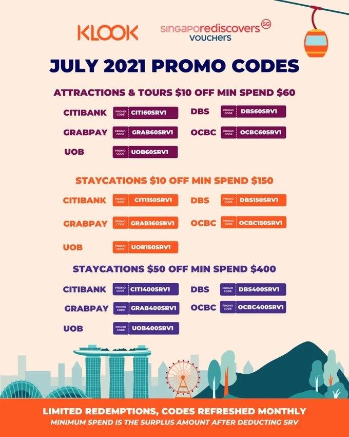 klook promo code july
