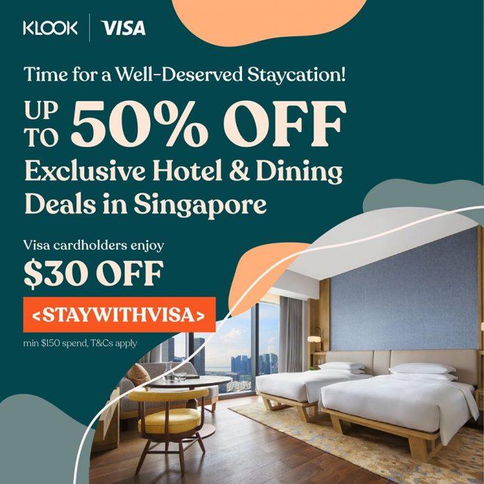 klook staycation promotion