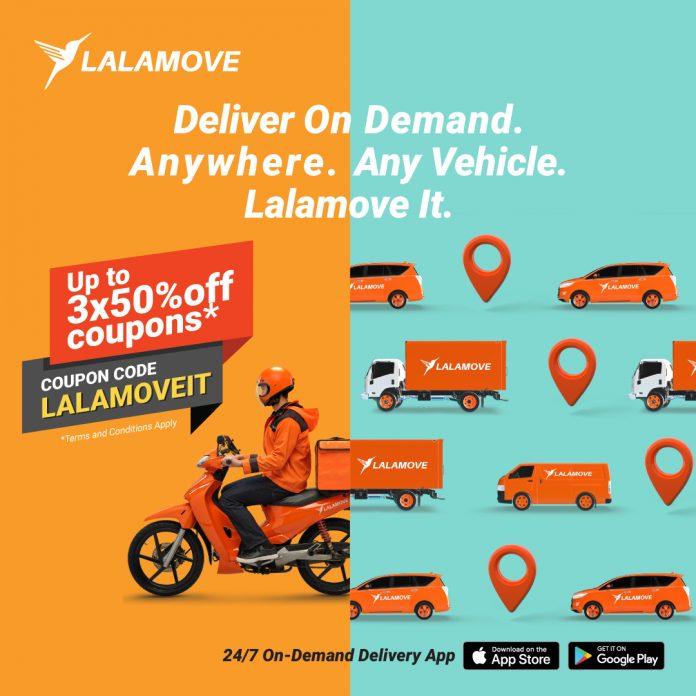 lalamove coupon