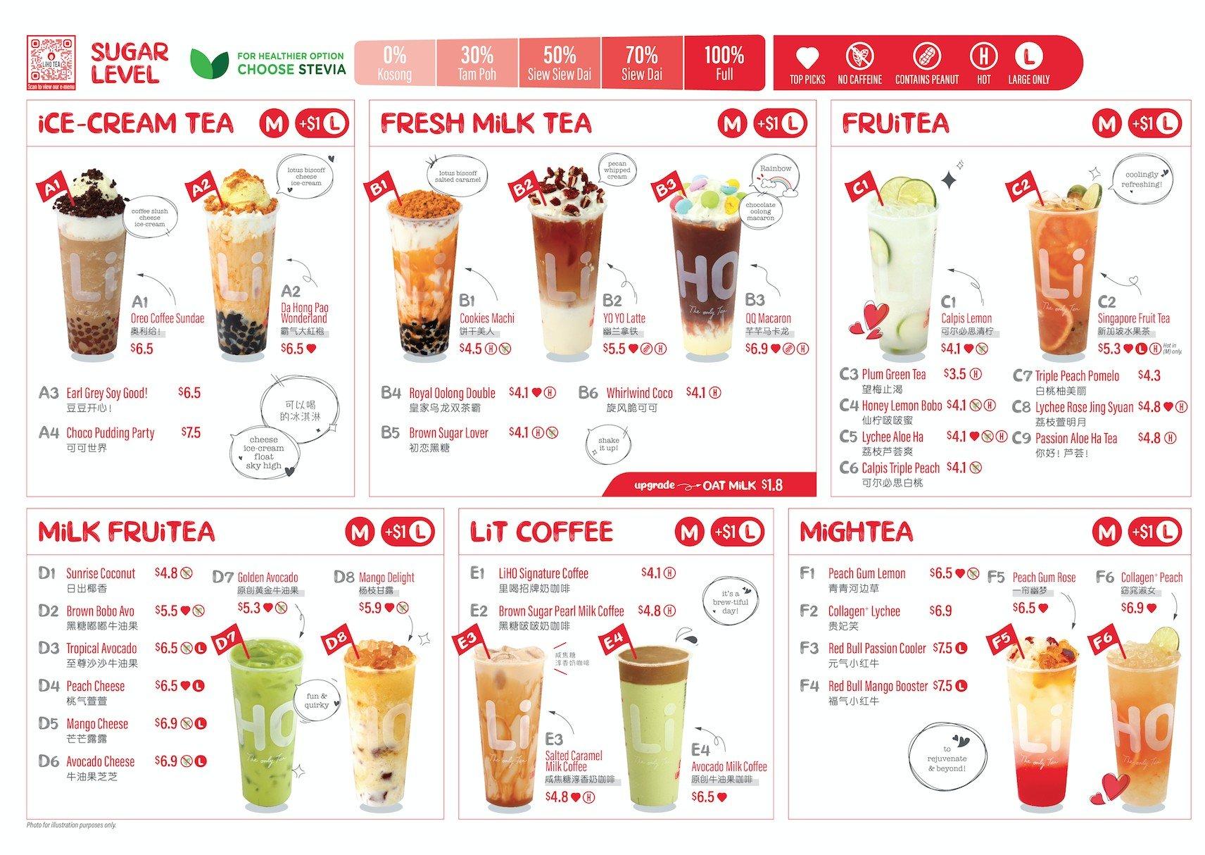 liho menu