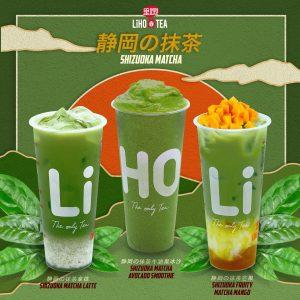 liho menu matcha drinks