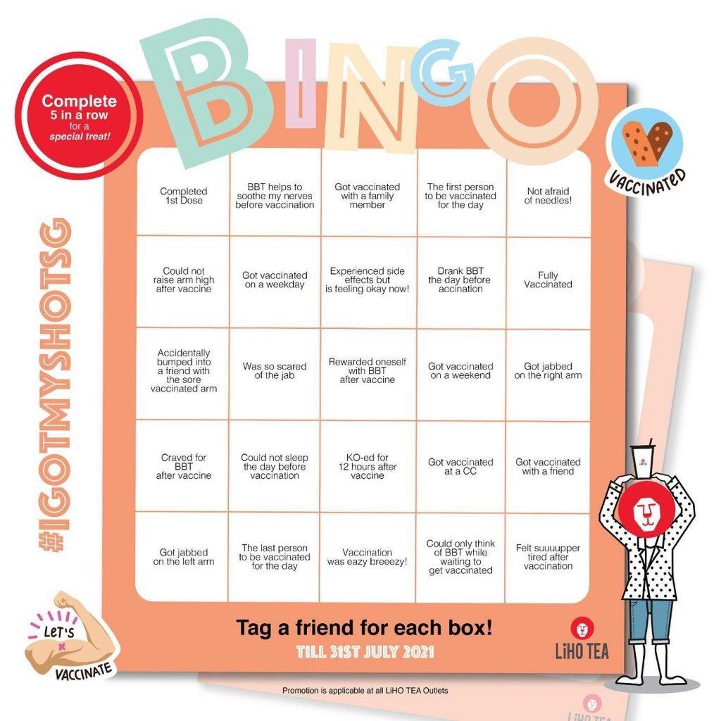 liho promotion bingo