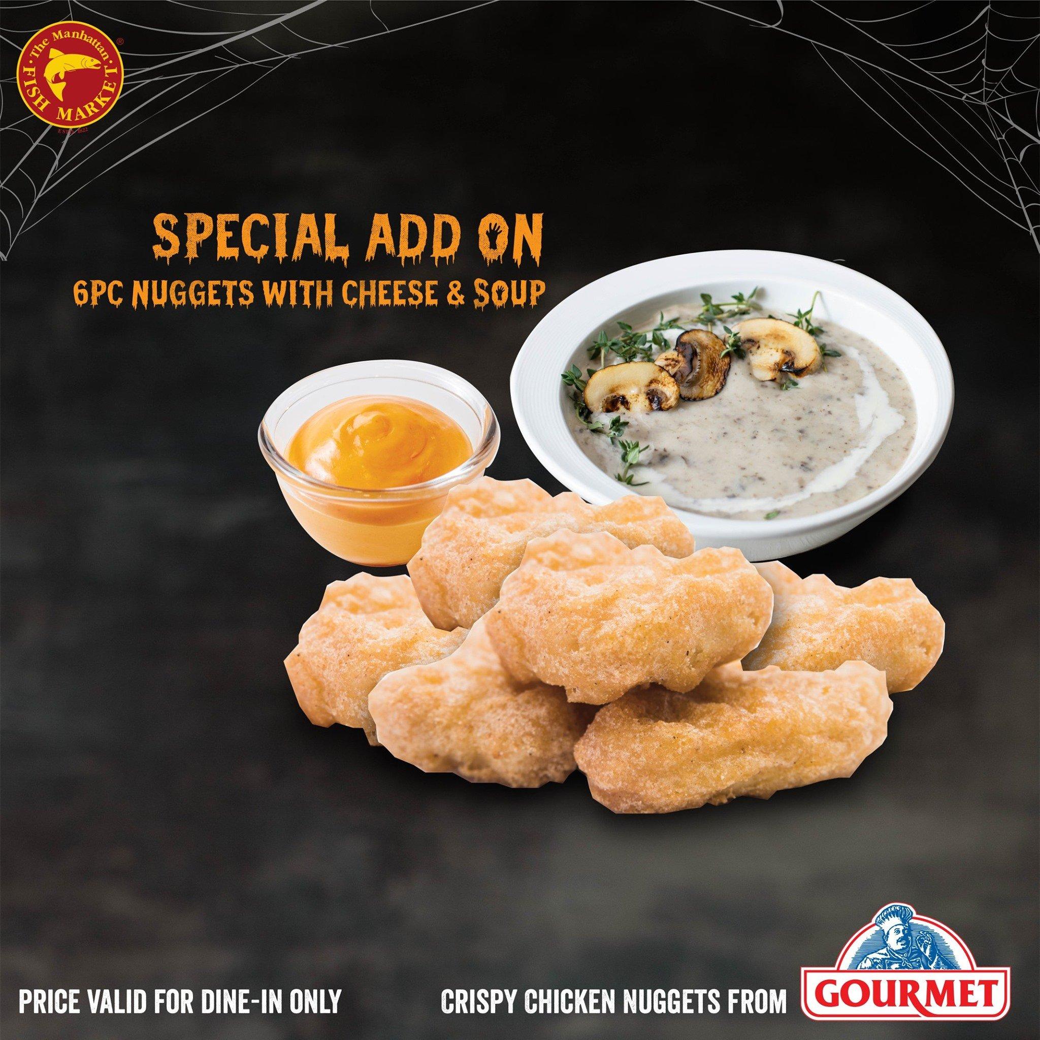 manhattan monster burger promotion nuggets