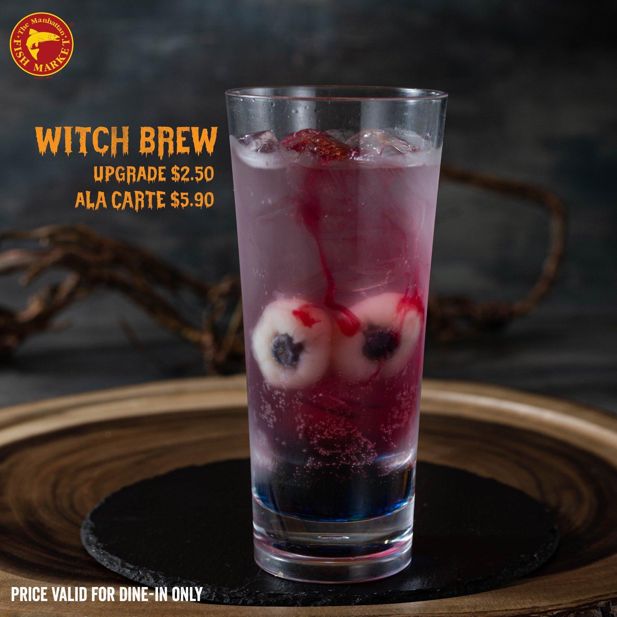 manhattan monster burger promotion witch brew