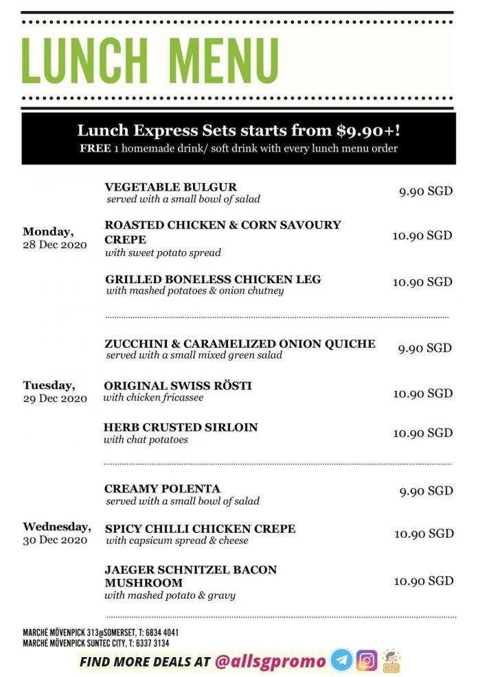 marche menu lunch 1