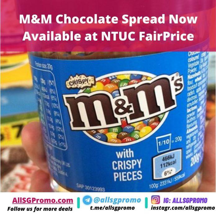mm chocolate spread ntuc