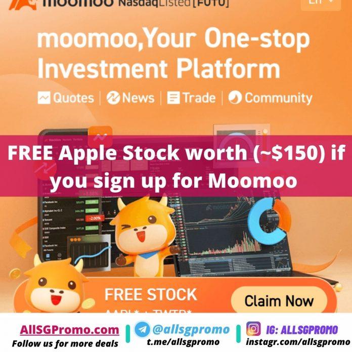 moomoo apple stock promo