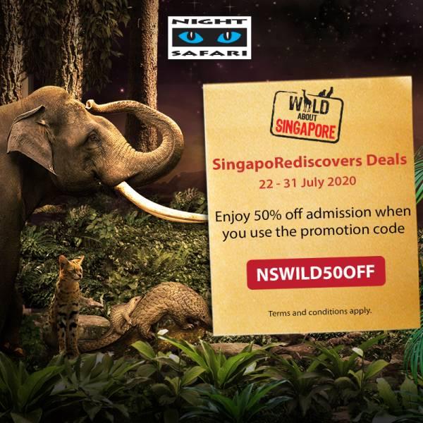 night safari promo code