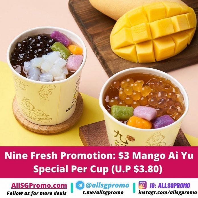 nine fresh promotion
