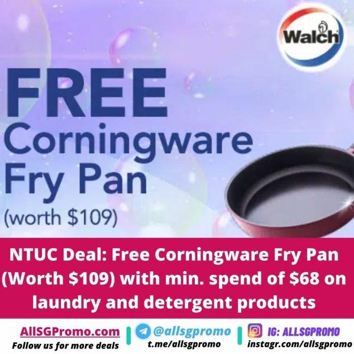 ntuc weekly promotion free pan