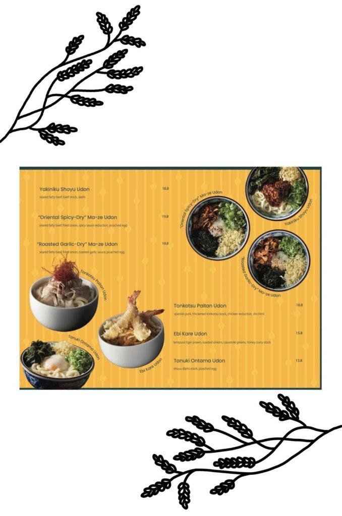 omote menu page 16