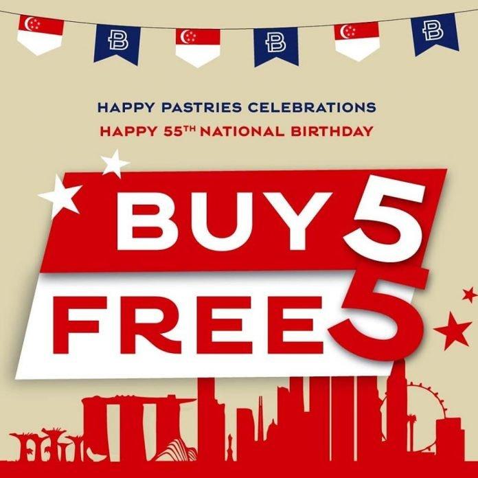 paris baguette singapore promotion buy 5 free 5