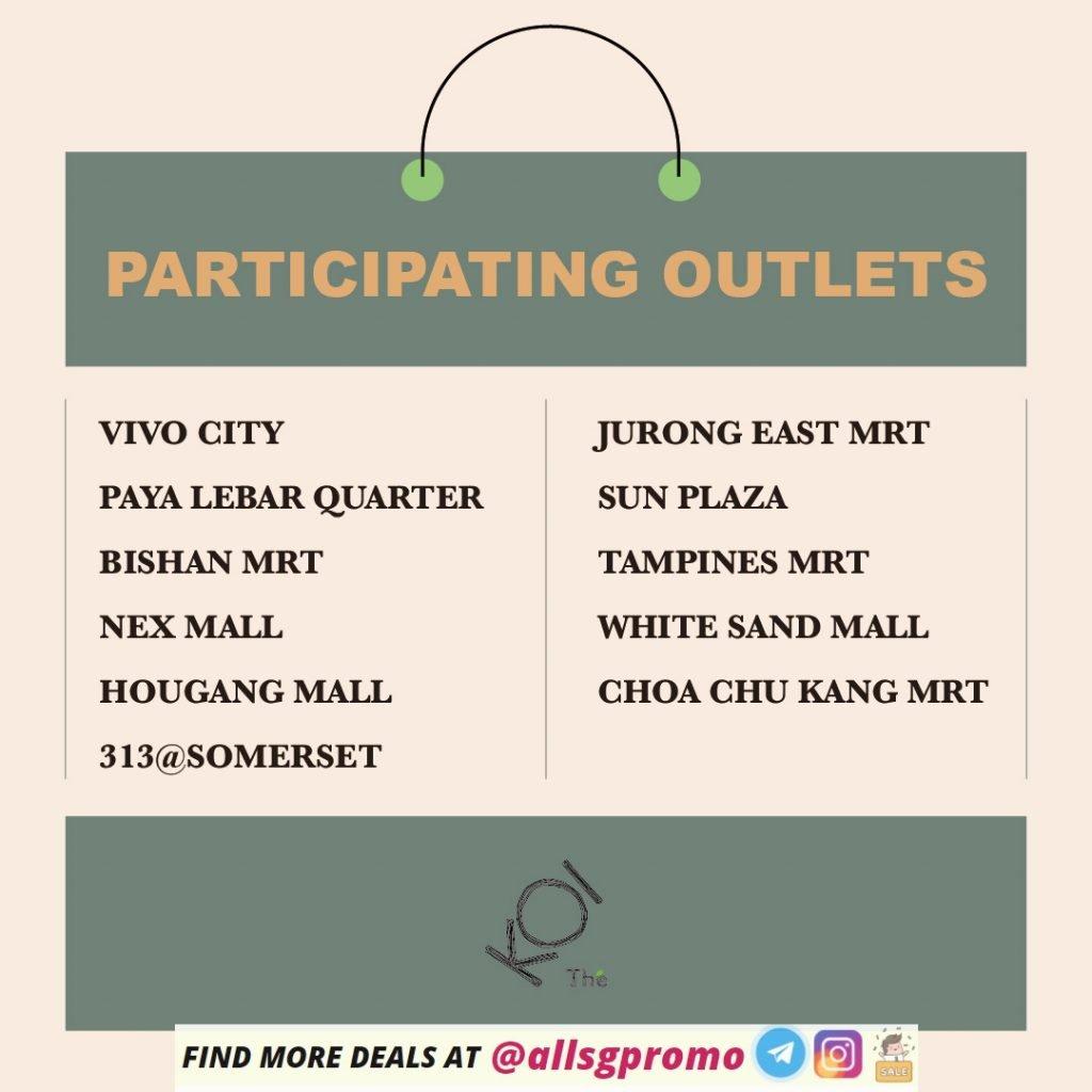 participating outlets