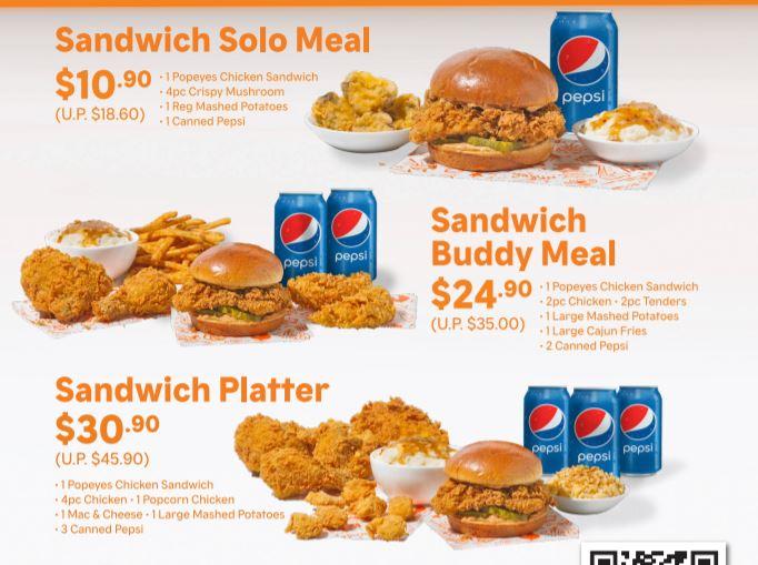 popeyes chicken promo
