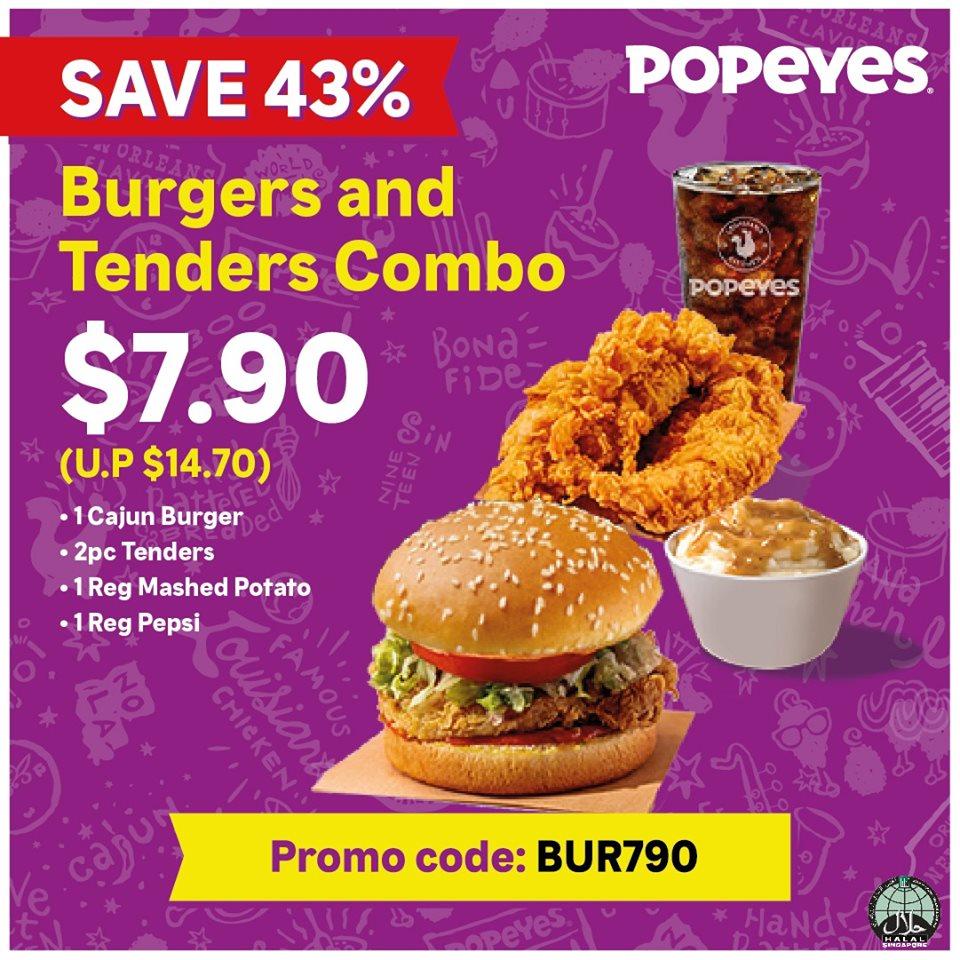 popeyes combo promo