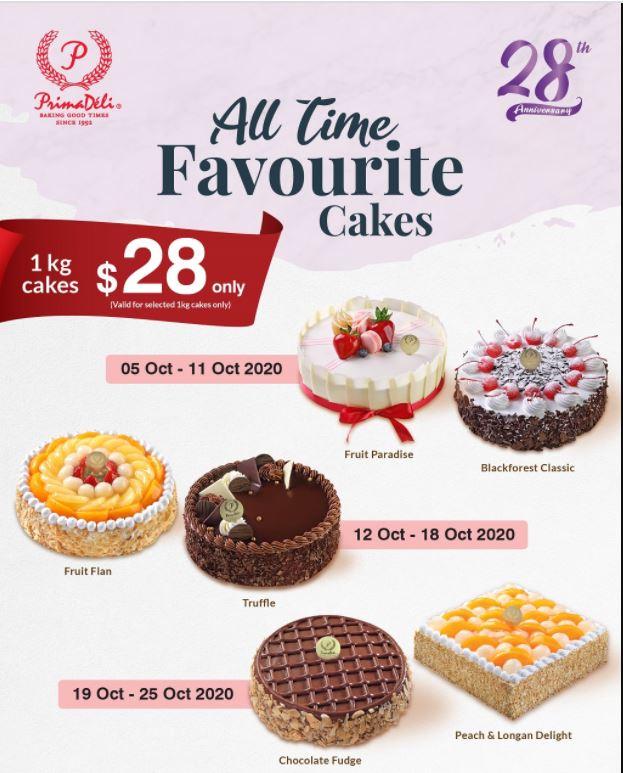 prima deli promotion cake