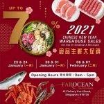 seafood warehouse sales