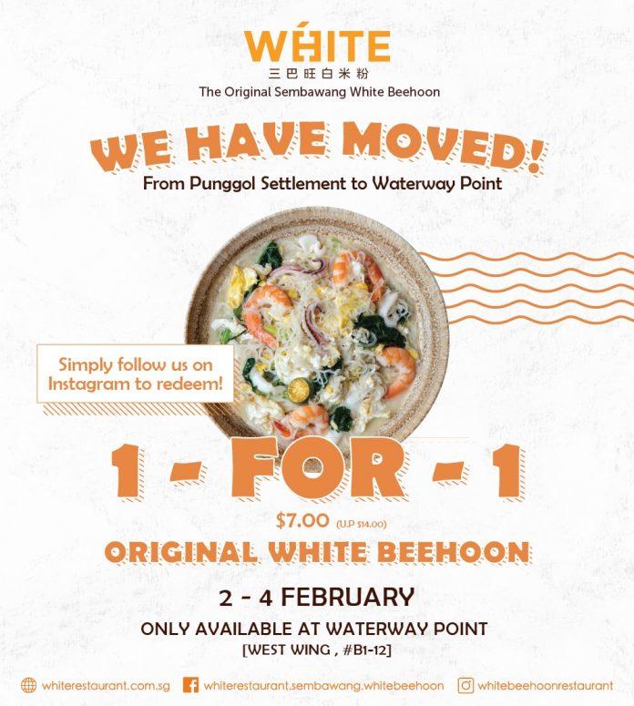 sembwang white beehoon promotion