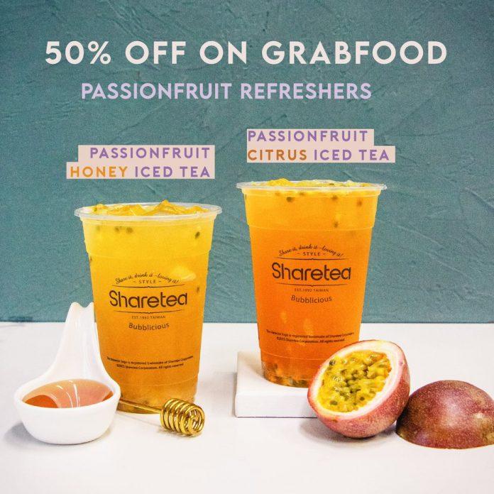 sharetea 50 off grab food