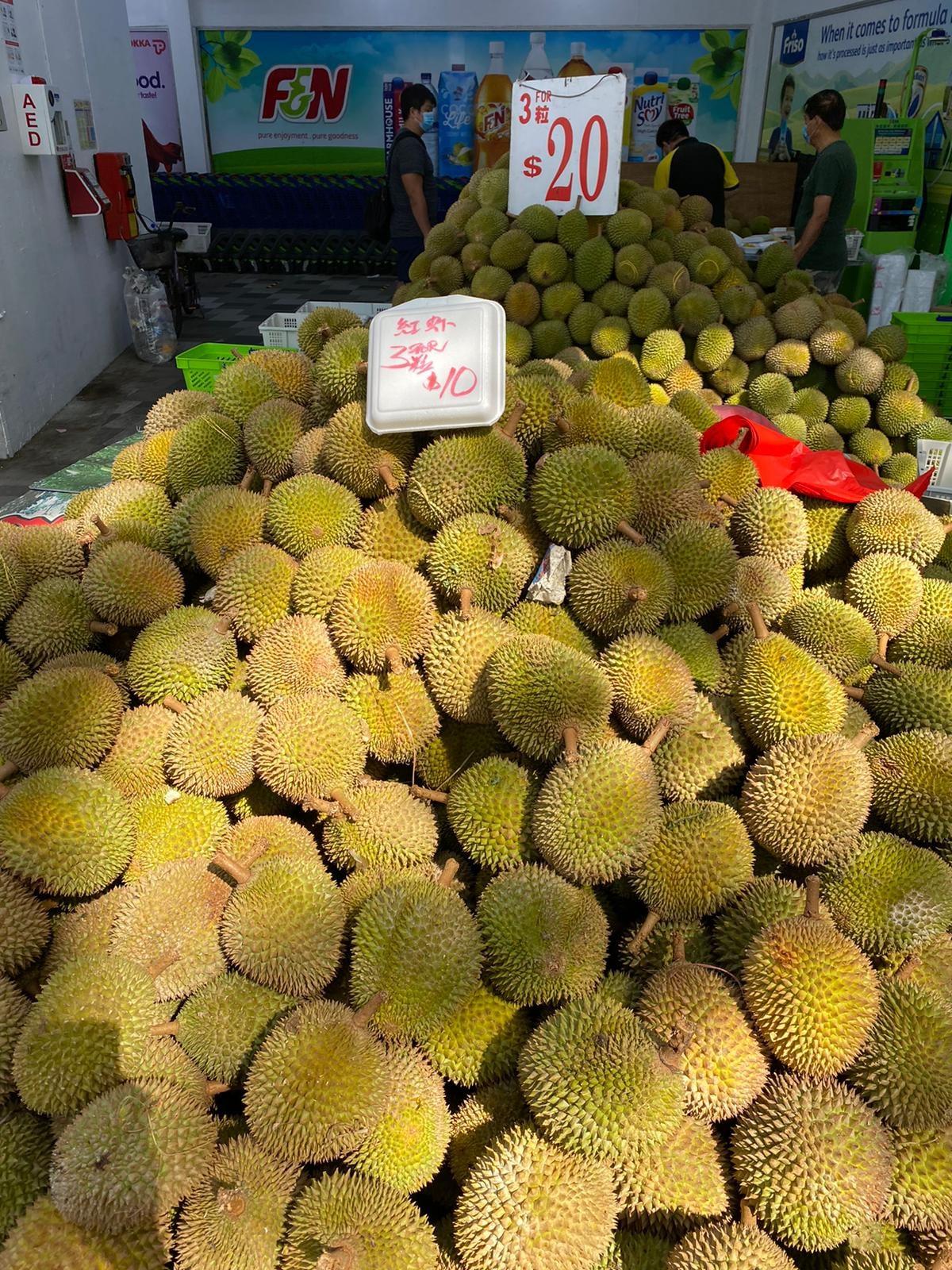 sheng siong durian promo 2