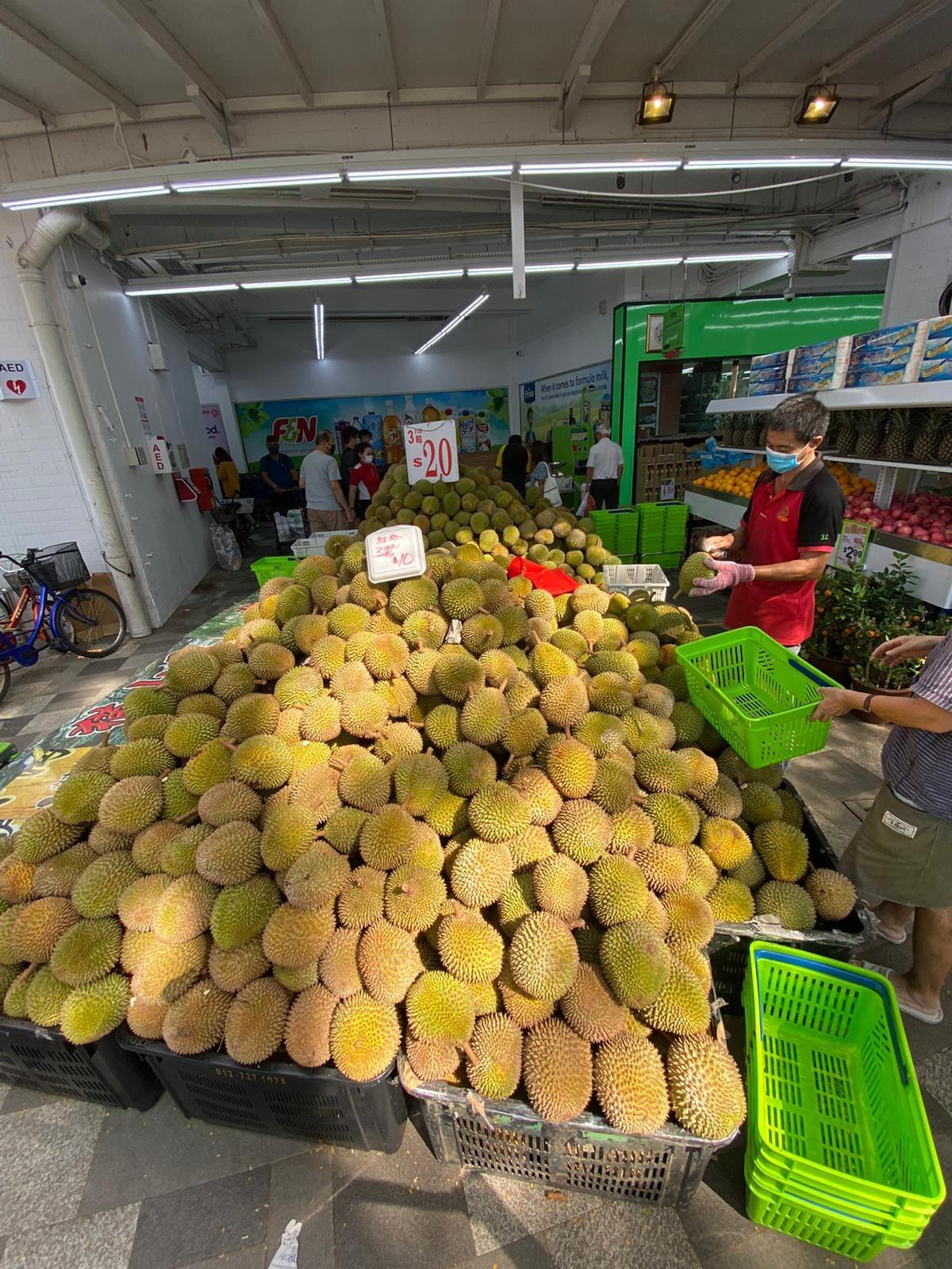 sheng siong durian promo 4