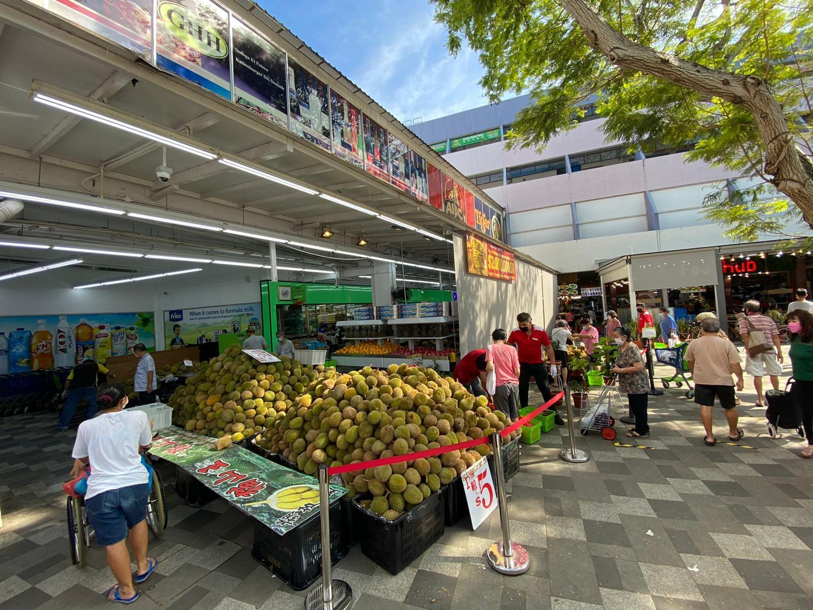 sheng siong durian promo