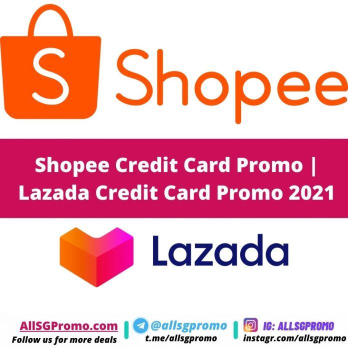 shopee credit card promo lazada credit card promo