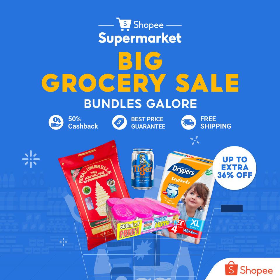 shopee sale grocery