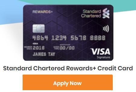 standard chartered rewards