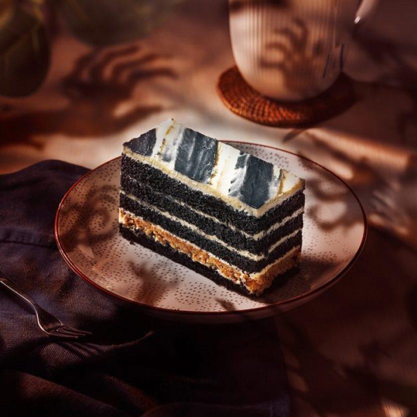 starbucks creep of layered cake