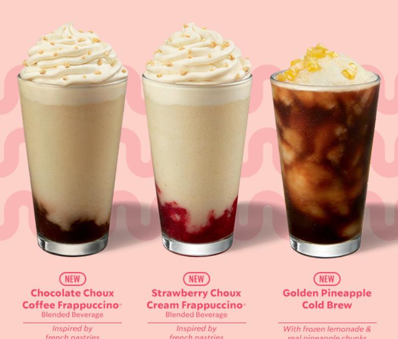 starbucks frappuccino drinks