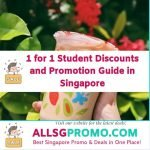 student discounts and promotions in Singapore