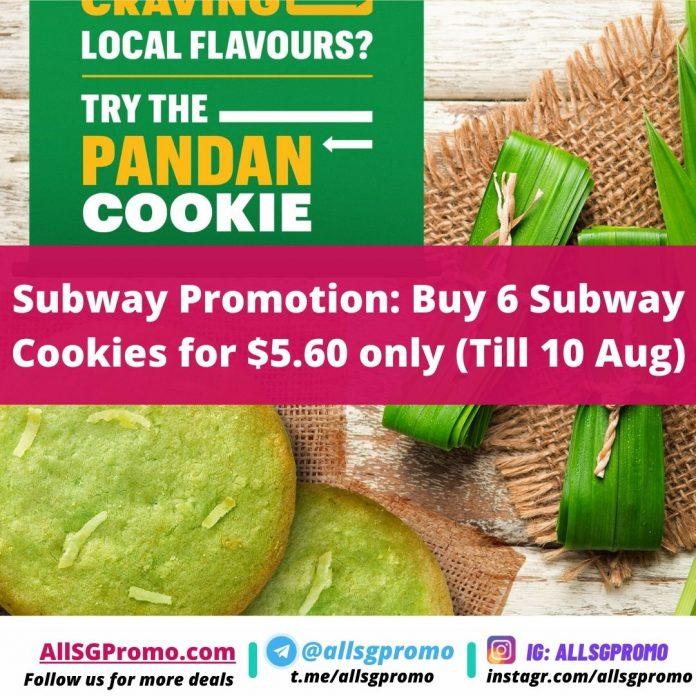 subway promotion