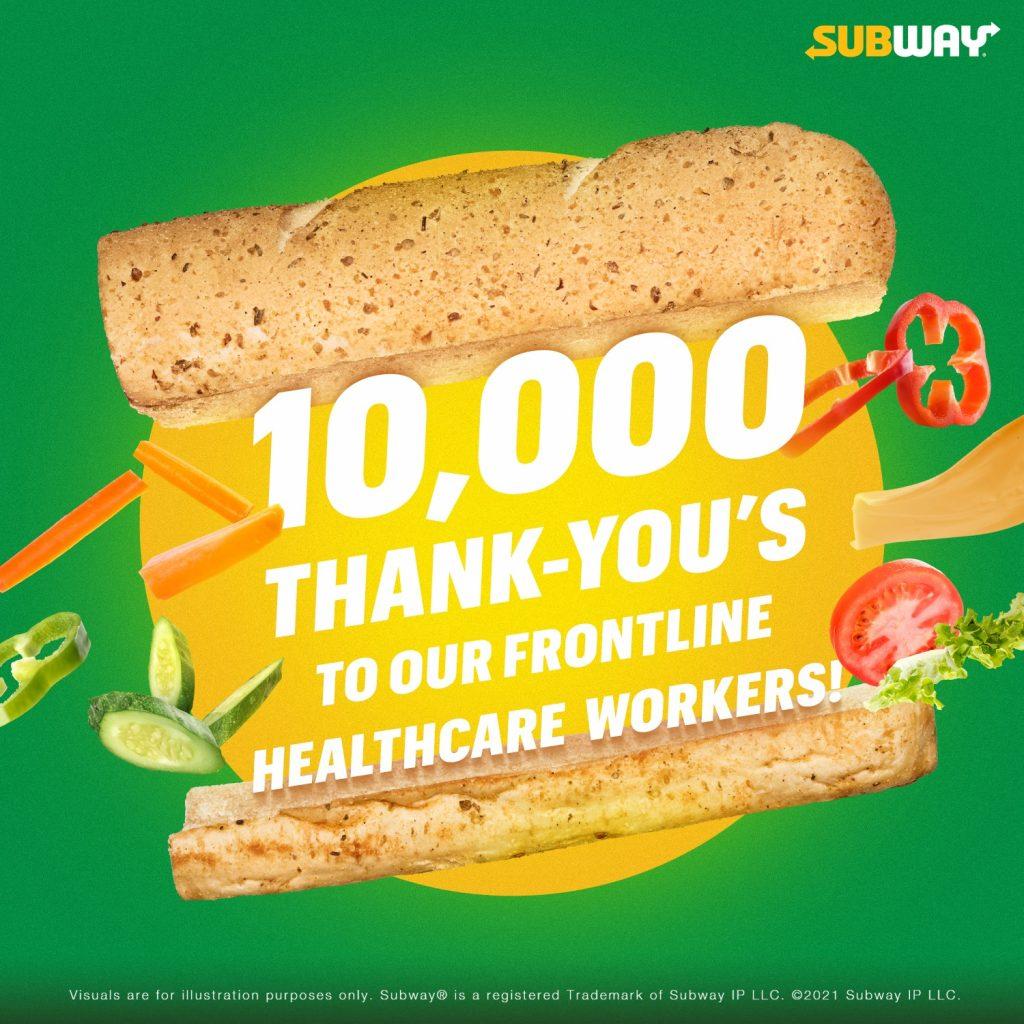 subway promotion free sub
