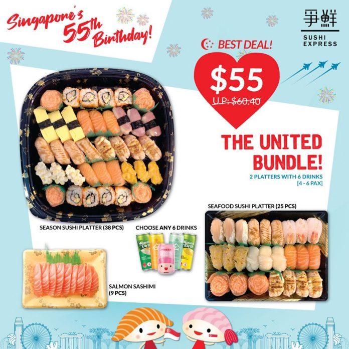 sushi express national day promotion
