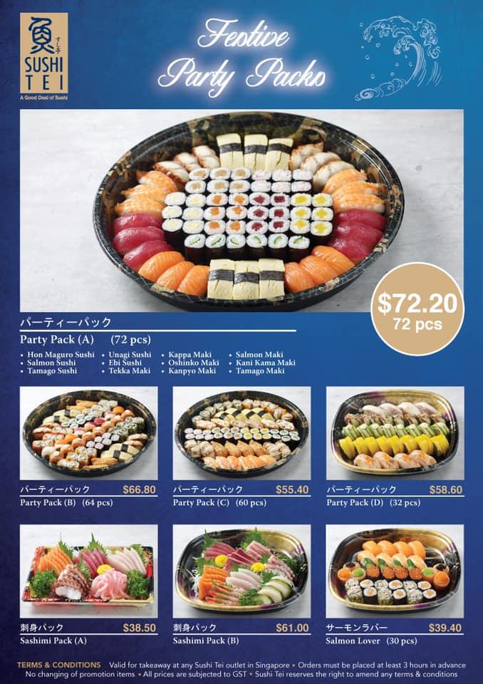 sushi tei promotion festive