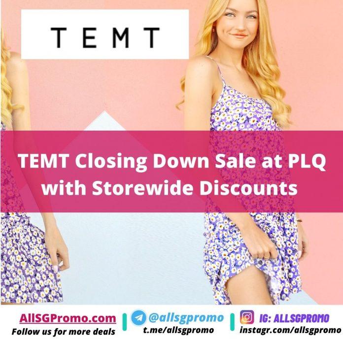 temt closing down sale