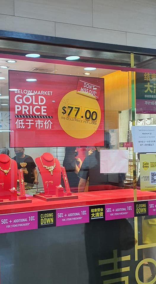 tianpo jewellery closing down sales 3