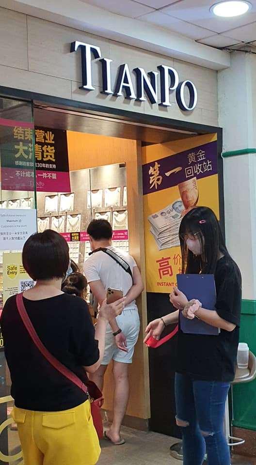 tianpo jewellery closing down sales 5