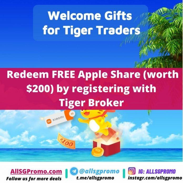 tiger broker promotion
