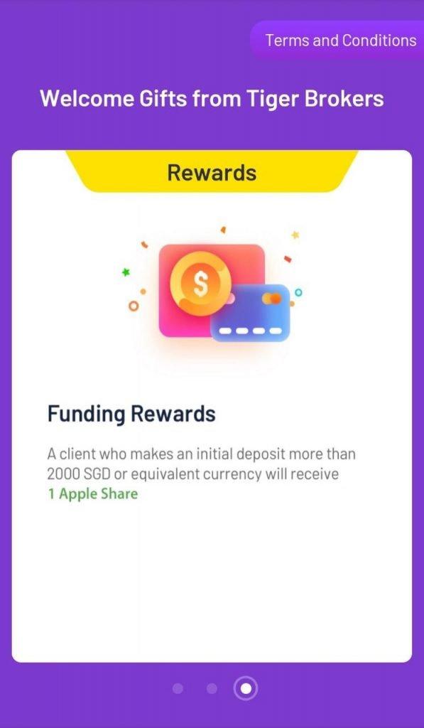 tiger broker promotion and referral funding reward