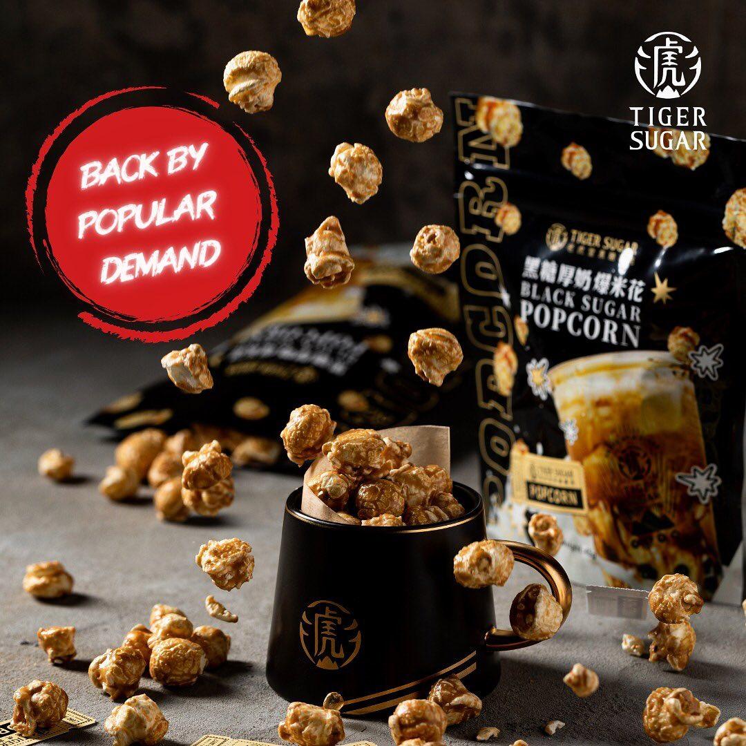 tiger sugar popcorn