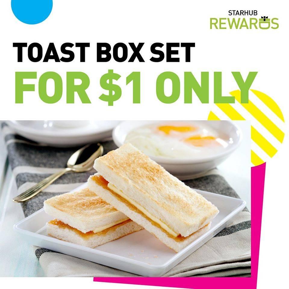 toast box 1 dollar starhub