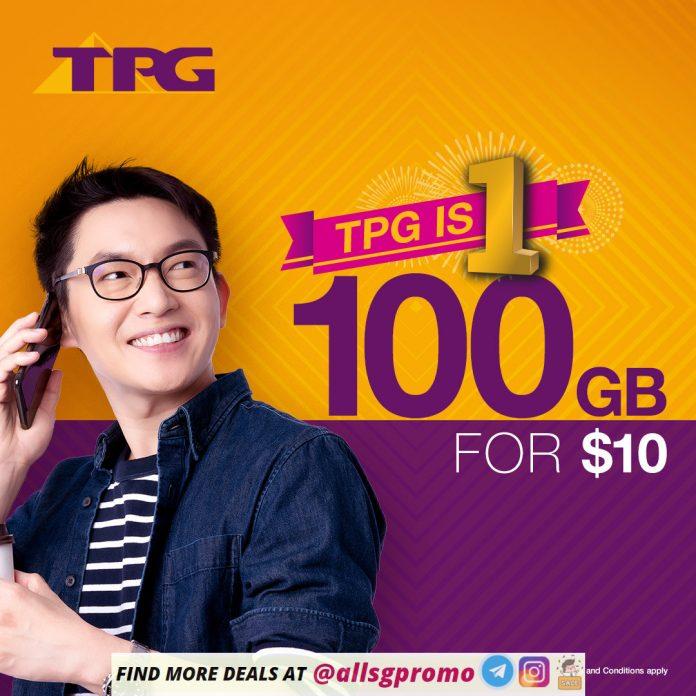 tpg mobile plan promotion 100gb
