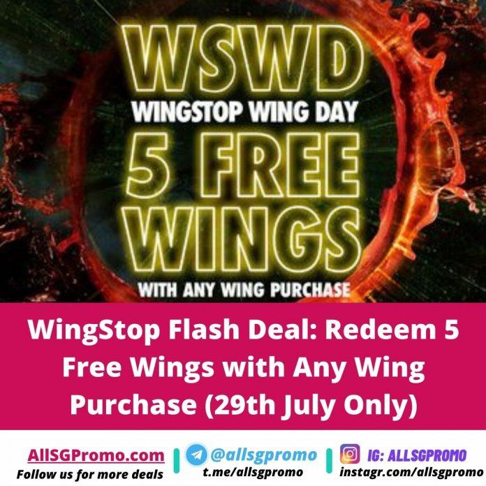 wingstop chicken wing promotion